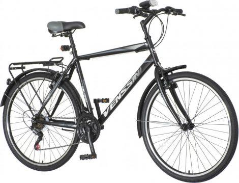 Venssini Milano férfi MTB kerékpár Fekete
