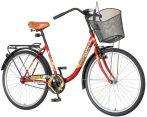 Venssini Eternity női városi kerékpár Bordó