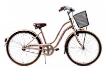 Explorer Cherry Blossom kontrás városi kerékpár LEGJOBB AJÁNLAT Cappuccino