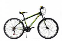 Explorer Classic 26 gyerek MTB kerékpár '18 HAJMERESZTŐ ÁRON Fekete