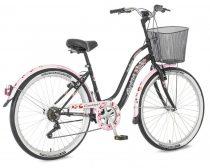 Explorer Cherry Blossom városi kerékpár LEGJOBB AJÁNLAT Fekete