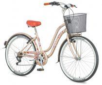 Explorer Cherry Blossom városi kerékpár LEGJOBB AJÁNLAT Cappuccino