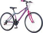 Explorer Vortex 26 grafit-rózsaszín gyerek MTB kerékpár