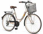 Explorer Elite Lady városi kerékpár  Cappuccino