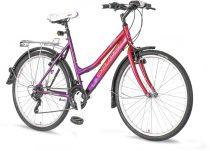 Explorer Sparkles Lady City MTB kerékpár LEGJOBB AJÁNLAT Rózsaszín-Lila
