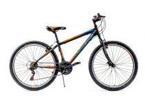 Explorer North 26 gyerek MTB kerékpár HAJMERESZTŐ ÁRON Fekete-Narancs