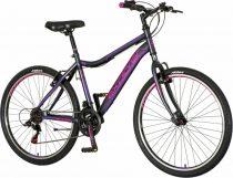 Explorer North 26 gyerek MTB kerékpár HAJMERESZTŐ ÁRON Fekete-Rózsaszín