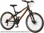 Explorer Vortex 26 tárcsafékes gyerek MTB kerékpár  Fekete 2020