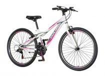 Explorer North 26 gyerek MTB kerékpár HAJMERESZTŐ ÁRON Fekete-Menta