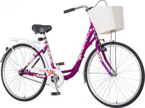 Venssini Diamante 26 kék női városi kerékpár