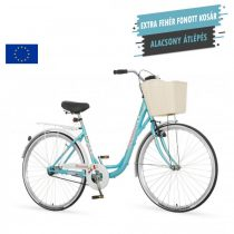 Venssini Diamante 26 világoskék női városi kerékpár LEGJOBB AJÁNLAT