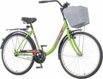 Venssini Venezia női városi kerékpár LEGJOBB AJÁNLAT Zöld