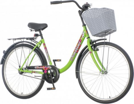 Venssini Venezia női városi kerékpár  Zöld