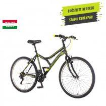 KPC Legion 26 férfi MTB kerékpár Fekete-Sárga