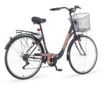 Venssini Rosemary női kontrás városi kerékpár Grafit