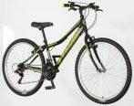 Venssini Forza 26 gyerek MTB kerékpár Fekete