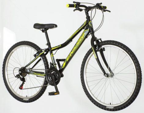 Venssini Forza 26 gyerek MTB kerékpár Shimano Fekete