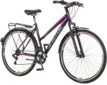 Visitor Smart női trekking kerékpár Fekete-Lila