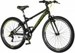 Visitor Pro Classic 27,5 kerékpár Fekete-Sárga