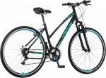 Visitor Terra Lady női crosstrekking kerékpár Fekete-Menta