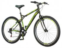 Visitor Pro Classic 29er kerékpár LEGJOBB AJÁNLAT Fekete-Zöld