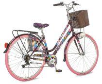 Visitor Fashion Geisha városi kerékpár LEGJOBB AJÁNLAT Barna