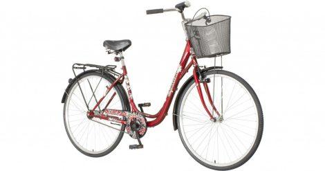 Venssini Silencio 28 bordó női városi kerékpár