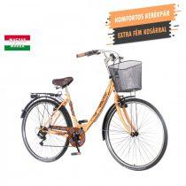 KPC Elite női váltós városi kerékpár Púder