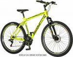 Explorer Classic 27,5 kerékpár  Sárga-Fekete V-fék