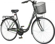 Venssini Diamante 28 fekete női városi kerékpár LEGJOBB AJÁNLAT