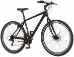 Explorer North 29er kerékpár Fekete-Piros V-fékes