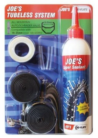 Joe's No-Flats Tubeless System XC csomag