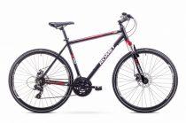 Romet Orkan 1 férfi crosstrekking kerékpár 2018 fekete-piros L
