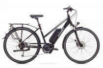 Romet ERT 100 Lady elektromos trekking kerékpár Fekete