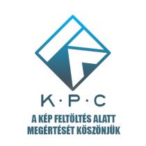 """KPC 18"""" fekete-fehér oldalkerék"""
