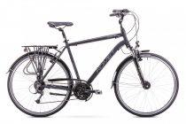 Romet Wagant 4 férfi trekking kerékpár Fekete