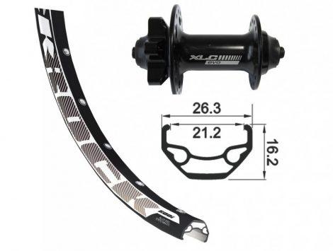 """XLC 29"""" első kerék"""