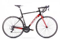 Romet Huragan 1+ országúti kerékpár Fekete-Piros