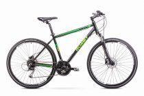 Romet Orkan 3 férfi crosstrekking kerékpár 2018 fekete-zöld M