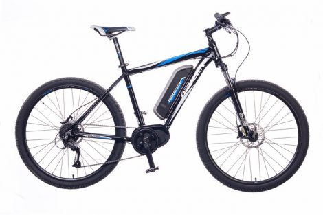 Neuzer E-650B férfi pedelec kerékpár Fekete