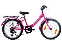 KPC Fairy 20 6 sebességes gyerek kerékpár Rózsaszín