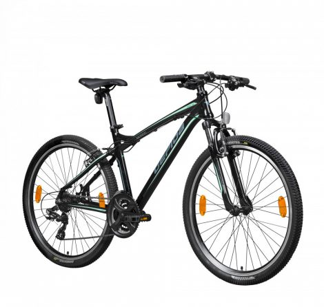 "Gepida Mundo férfi MTB kerékpár 15"" Fekete-Grafit-Menta"