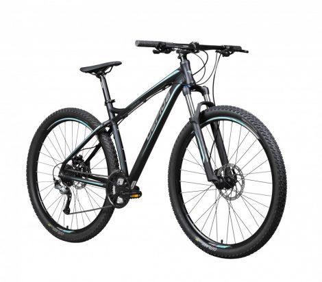 "Gepida Sirmium 29 kerékpár 19"" Fekete-Kék"