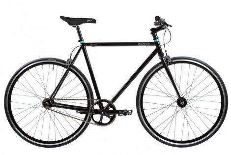 Gepida Spesis fixi kerékpár 58 cm Fekete