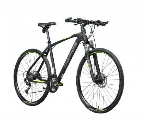Gepida Alboin 500 CRS crosstrekking kerékpár Fekete