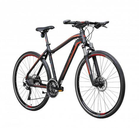 Gepida Alboin 900 CRS crosstrekking kerékpár Fekete