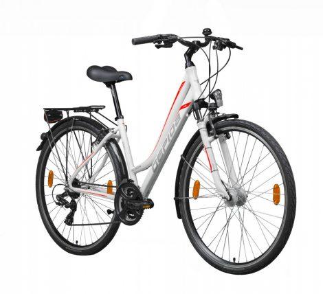 Gepida Alboin 200 női trekking kerékpár 48 cm Fehér-Piros
