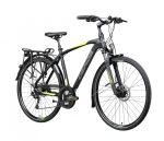 Gepida Alboin 500 férfi trekking kerékpár Fekete