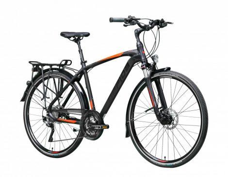 Gepida Alboin 900 trekking kerékpár Fekete