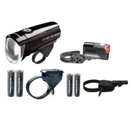 Trelock LS 350 + LS 710 lámpaszett
